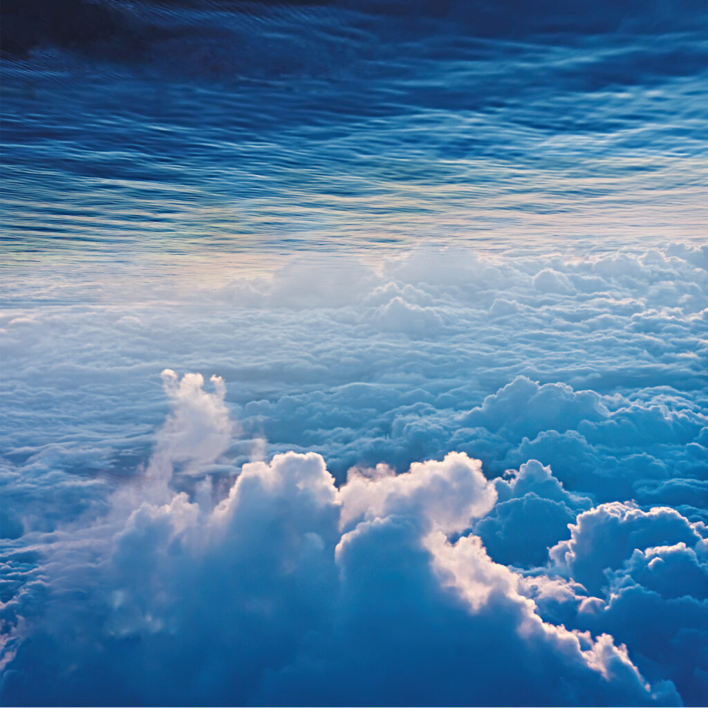 Cloud and Waves