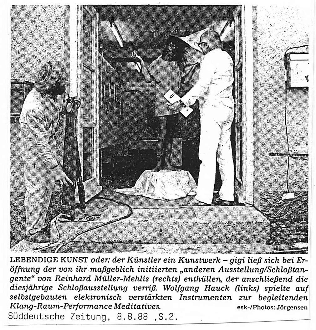 Franz1988 Foto Jörgensen SZ Hauck Wolfgang Dachau Schlosstangente-Xaver Hitzler Pfaffenhofener Kurier, 6. November 1985