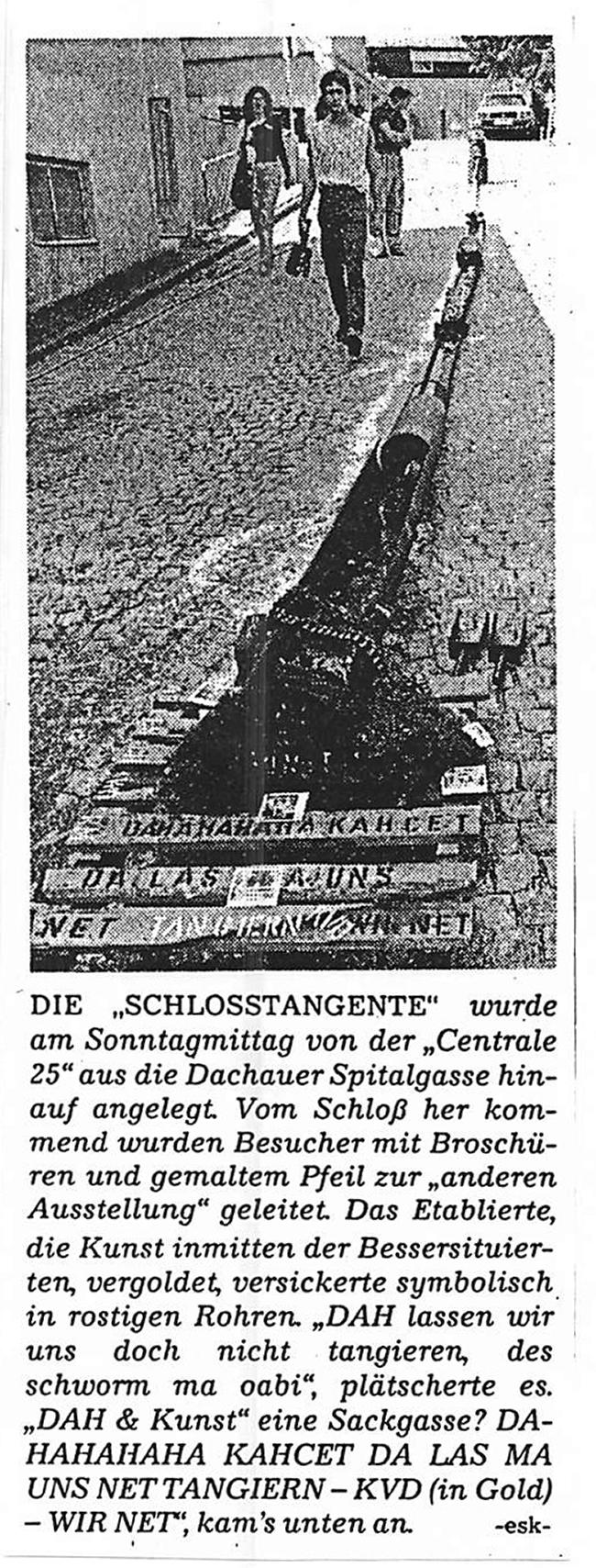 1988 Hauck Wolfgang Dachau SZ Schlosstangente